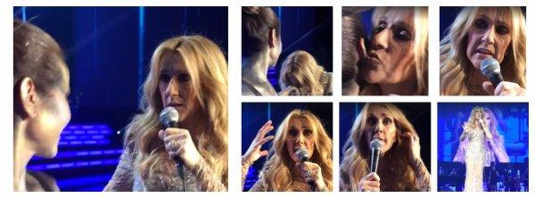 Voici quelques captures supplémentaires du montage vidéo de la surprise pour Céline !