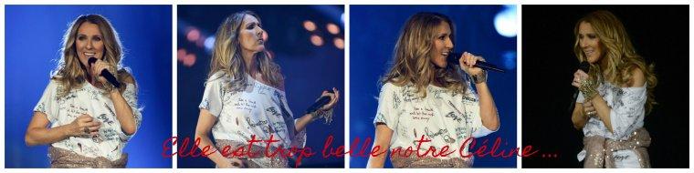 1eres captures et photos de Céline ce soir a Copenhague. 1ere tenue tres originale !!