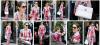 """Après être allée à l'Opera Garnier pour assister à une representation du ballet """"Renaissance"""", dont les costumes sont signés d'Olivier Rousteing, le directeur artistique de la maison Balmain, Céline Dion a été aperçue le mercredi 14 juin dans les rues parisiennes vêtue d'une tenue originale. Cheveux attachés en chignon bas, lunettes XXL et vernis à ongles rouge, la célèbre chanteuse est sortie de son hôtel du VIIIe arrondissement avec un manteau, une veste et un pantalon fleuris signés Roberto Cavalli de la collection Pre Fall 2017. Un look qui n'est pas passé inaperçu et qui prouve que Céline Dion est une véritable icône mode."""