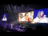 Céline qui chante entre autre les 2 chansons de la belle et la bête