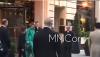le 12/06/17 Céline sort de son hôtel à Paris