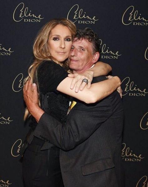 Céline en backstage ! Encore et toujours resplendissante .