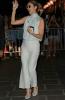 Celine qui sort le soir de son hotel à Paris 22/06/2017