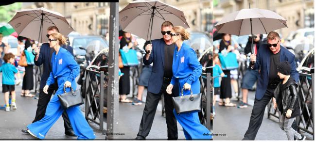 Allez retour rapide Céline avec les jumeaux pour faire un peu de shopping ...  Le 27/06/17