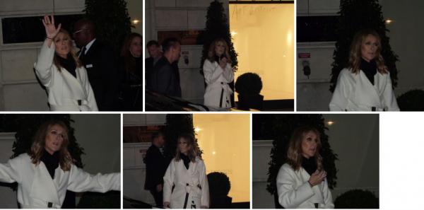 Retour de Bordeaux  ce nuit pour Céline dans son hôtel à Paris !