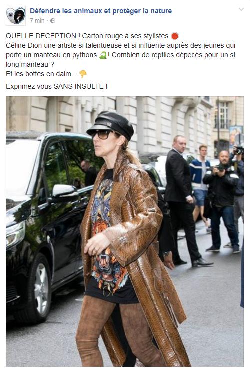 Et voila j'en était sure j'adore Céline mais la je savais qu elle allait se faire mal voir avec cette tenue affreuse !! Puff son styliste n'est bien bien fortiche non plus :(