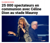 Céline Dion était au stade Mauroy à Lille ... le 1er juillet 2017 !
