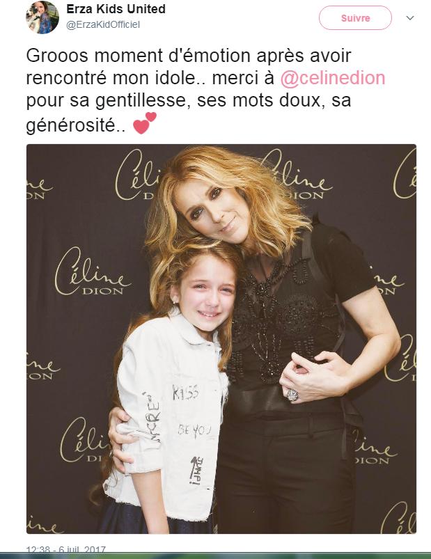 Céline backstage