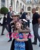 Céline en séance photo rencontre des fans ! 💖 Puis encore et tjs shoot photo place Vendome