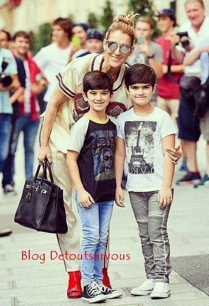 💕 Céline Nelson et Eddy à Paris aujourd hui le 17/07/17