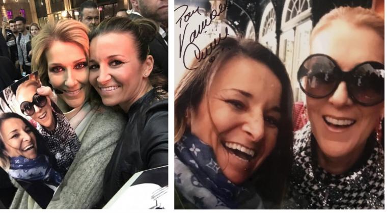 Céline à Berlin a fait quelques photos et autographes ! Vanessa a réussi encore a faire une magnifique photo avec un joli autographe:) 💗  le 23/07/17