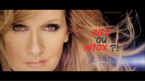 Info ou Intox ... je lis beaucoup de choses sur Céline en ce moment alors, je vous met 3 rumeurs parmi tant d autres :