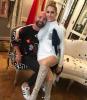 Le 1er Août, Céline est retrouné 21 place Vendôme revoir bertrand guyon ! Peu etre pour quelques photos ou des nouvelles tenues pour Vegas ?