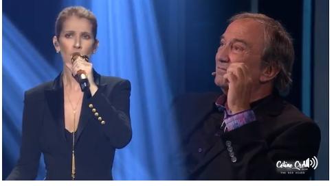 """Céline a chanté """"Si Dieu existe"""", depuis Las Vegas, pour l'émission québécoise """"En direct de l'univers"""" en hommage à Claude Dubois. Vidéo à venir ! merci les The Red Heads"""