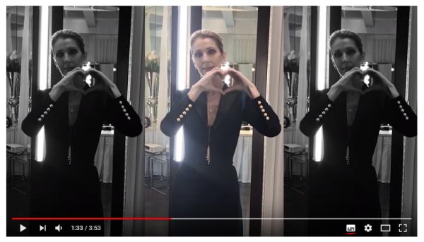 """Céline apparaît dans le clip de la chanson """"Igual"""" pour apporter son soutien à la communauté LGBTQ au Brésil."""