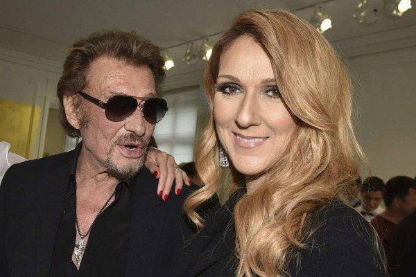 Réaction de Céline Dion à l'annonce du décès de Johnny ....