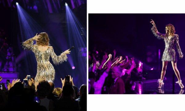 Céline est de retour sur scène ce soir au The Colosseum at Caesars Palace ! Êtes-vous prêt à danser avec nous ? 💃💃-Team Céline