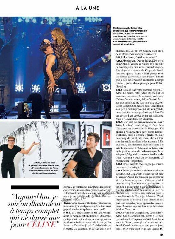 Céline en couverture de Gala (en kiosques aujourd'hui)