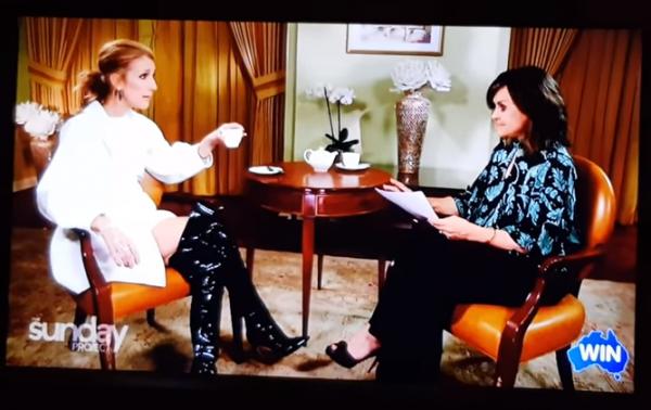 Céline Dion l'interview Le 18 février 2018 Australie