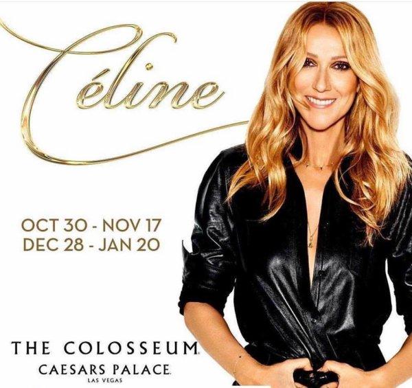 Céline Dion annonce 24 nouvelles représentations de son spectacle au Colosseum du Caesars Palace.