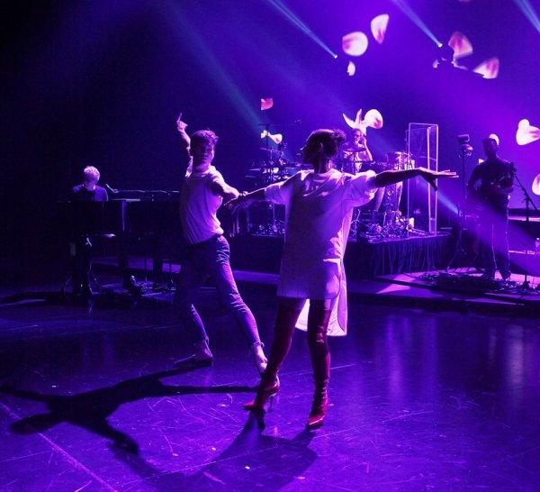 Dernières répétitions avant que la tournée #celinedionlive2018 commence !