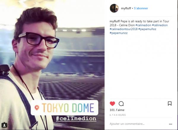 Voici le dome à Tokyo  pris de la scene par le guitariste Kaven Girouard et une petite photo de Pepe Munos
