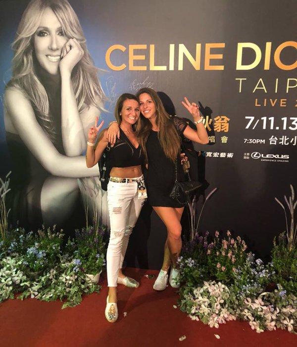 Vanessa F. et Amandine D. sont en place à Taipei !!