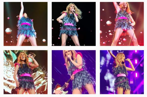 Céline au concert de Taipei le 11/0718