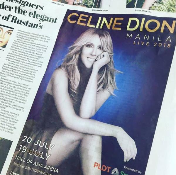Céline à Manille