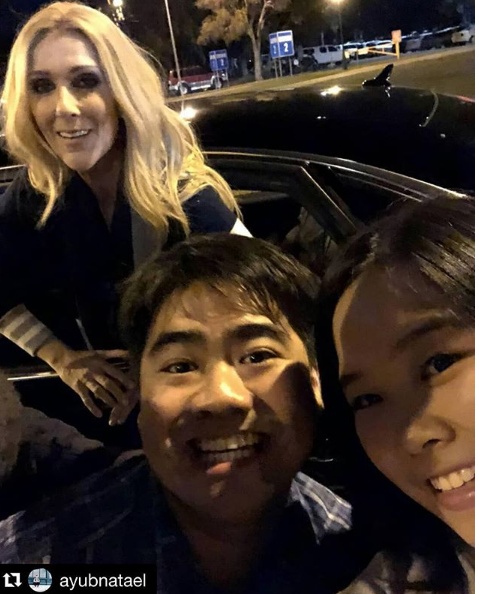 Céline quitte Brisbane Arena après le concert ! Tellement cool avec ses fans (merci encore à Vanessa pour ses superbes photos)