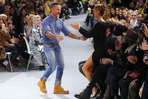 Céline Dion, sensationnelle avec Pepe Munoz à la Fashion Week