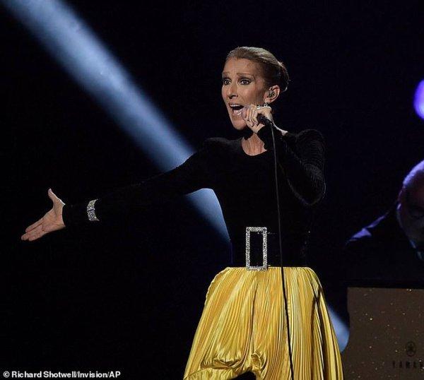 """Céline a interprété """"A Change is Gonna Come"""" hier à la """"Aretha! A GRAMMY Celebration For The Queen Of Soul"""""""