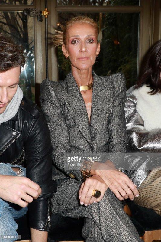 Céline au salon de la mode Ronald Van Der Kemp.