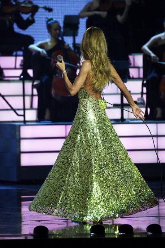 26/02/19 Céline est de retour à Vegas pour son show
