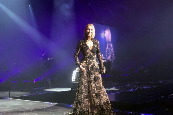 Céline Dion a lancé mercredi à Québec sa toute nouvelle tournée mondiale.