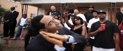 "Too Funny: Baracka Flacka Flames - Head of The State (Waka Flocka ""Hard In The Paint"" Parody)"