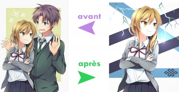 Avant → Apres