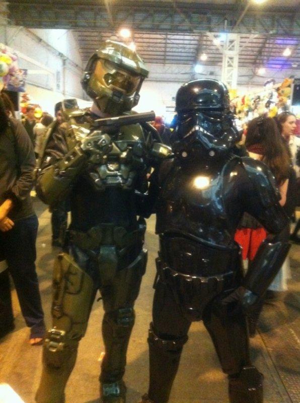 halo et stromtrooper noir