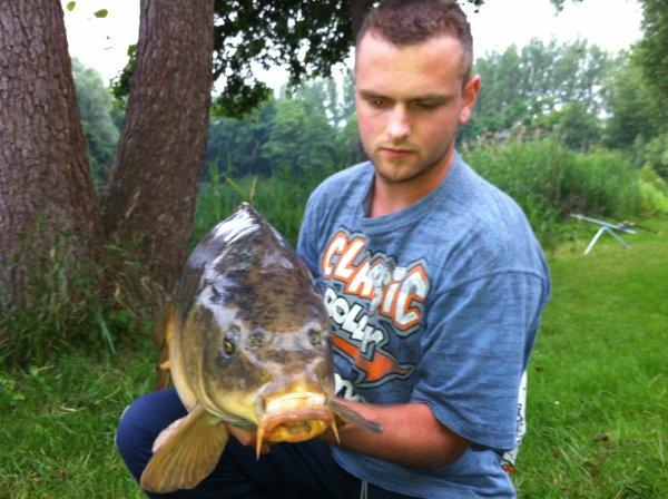 Pêche le 19 juin 2012 de 18h00 à 22h00