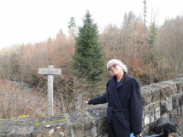 A l'abbaye de Montheron avec Oursibear.