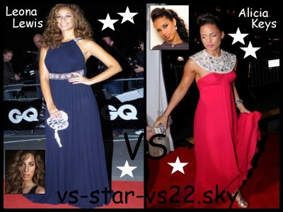 Leona Lewis VS Alicia Keys
