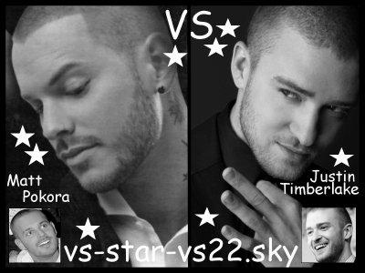 M Pokora VS Justin Timberlake