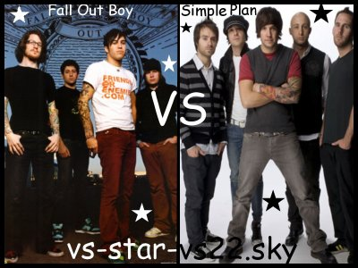 Fall Out Boy VS Simple Plan