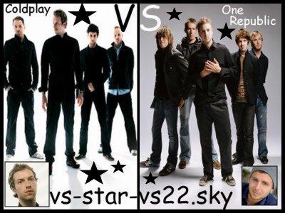Coldplay VS One Republic