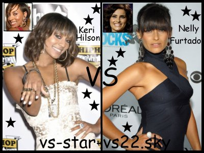 Keri Hilson VS Nelly Furtado
