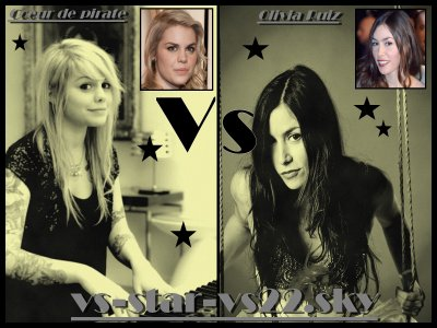 Coeur de Pirate VS Olivia Ruiz