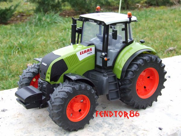 PETITE MODIFICATION DU CLAAS AXION 850
