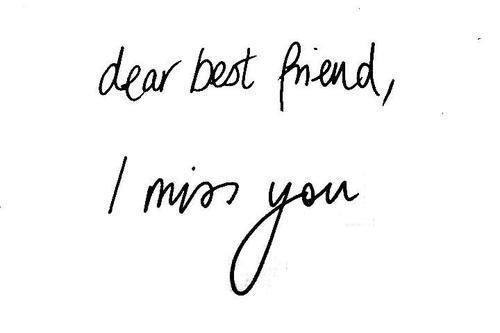 Le manque de toi.