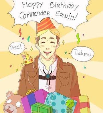 Joyeux Anniversaire Erwin