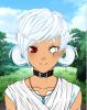 Anabeth pretresse titans et ses enfants ( fille : Chikako , Gars : Daiki )